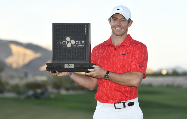 로리 맥길로이, '더 CJ컵' 우승…PGA 투어 통산 20승
